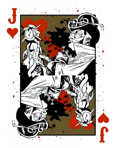 MMS Dark Deco Deck by US Playing Card