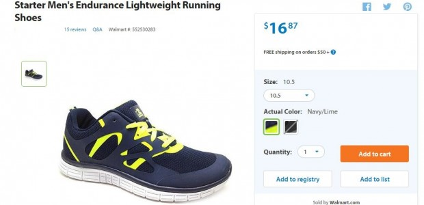 Serious runner seriously reviews $16 WalMart running shoes, and they