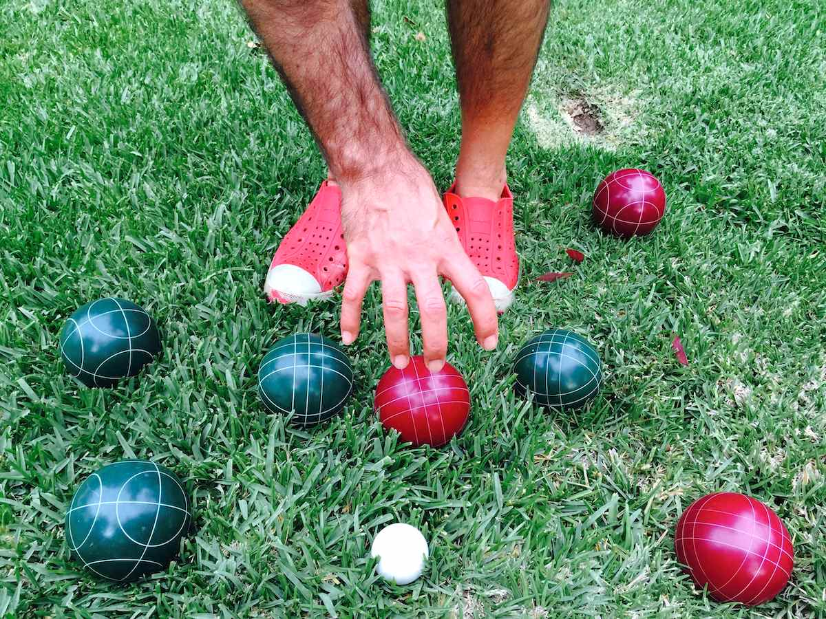 Bocce Ball Lawn Rules : Bocce ball ? A summer evening lawn game that is simple yet