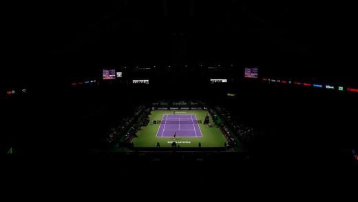 WTA Finals. Já há ordem de encontros para os DOIS primeiros dias