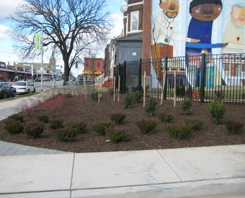 Park Heights Piazza and Kidspace