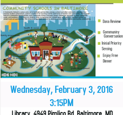 Community School Planning Meeting January