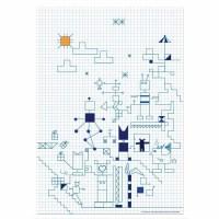 Robot Square Sheet - Dagens Poster