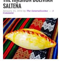 The Hirshon Bolivian Saltena
