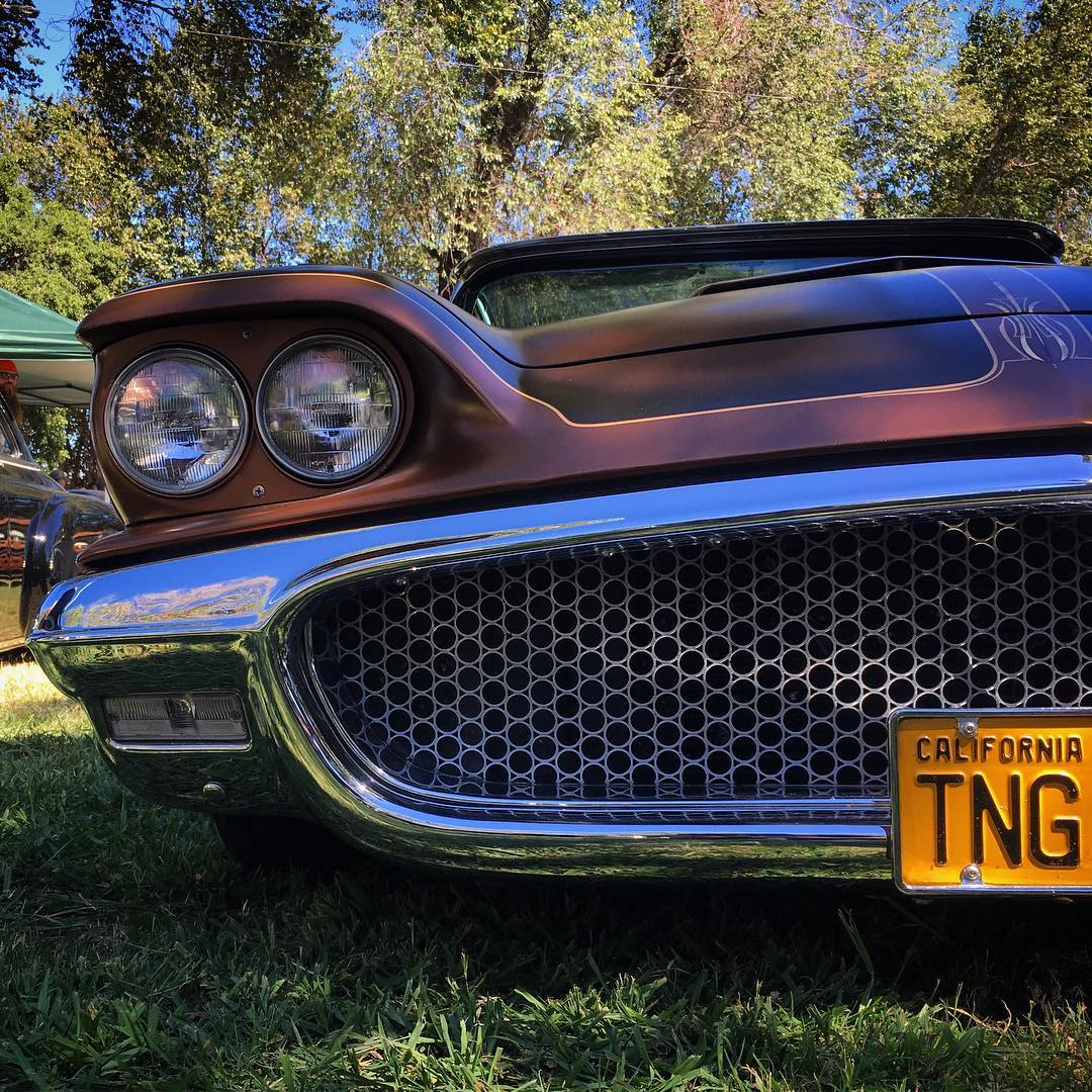 Loved seeing 50deluxe s Watsonesque 1960 Thunderbird at Billetproof Saturdayhellip