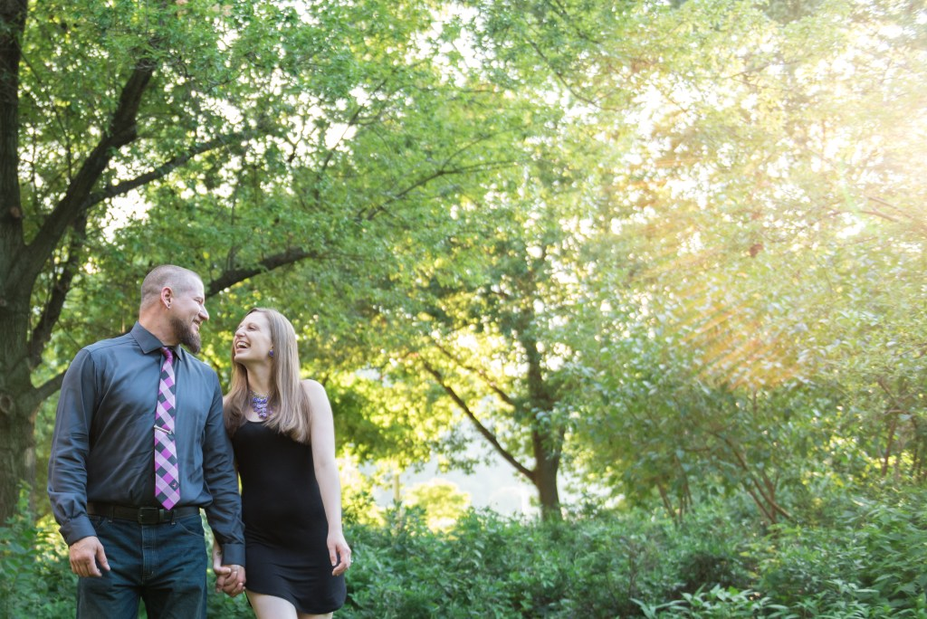 Point State park Pittsburgh Engagement Session