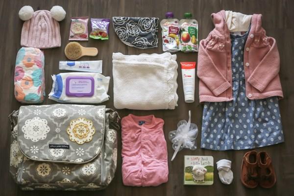 What's In My Diaper Bag | BondGirlGlam.com