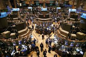 world financial market photo
