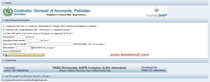 How to Monthly Pay Slips Online For Punjab Govt.