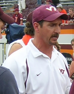 Virginia Tech defensive coordinator Bud Foster (Image source: Wikipedia)