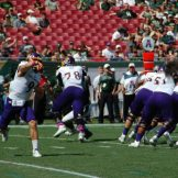 ECU quarterback Philip Nelson throws in Saturday's game at South Florida.