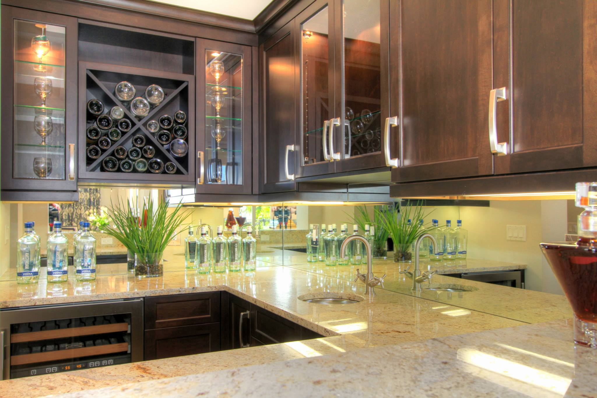 mirror glass backsplash glass backsplashes for kitchens mirror glass backsplash
