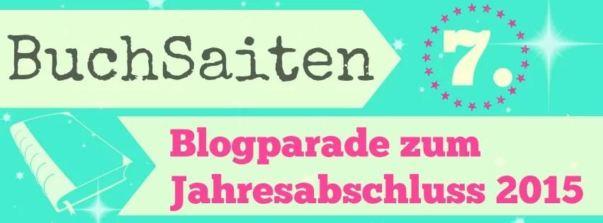 BuchSaiten Blogparade zum Jahresabschluss 2015