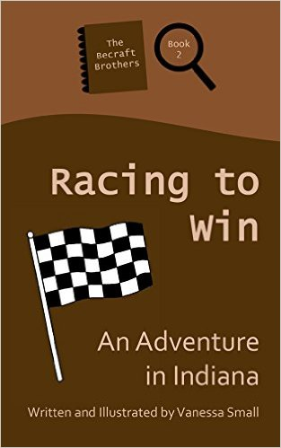 Book Cover: RACING TO WIN - fast-paced adventure by Vanessa Small