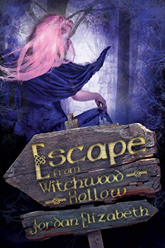 Book Cover: Escape from Witchwood Hollow by Jordan Elizabeth