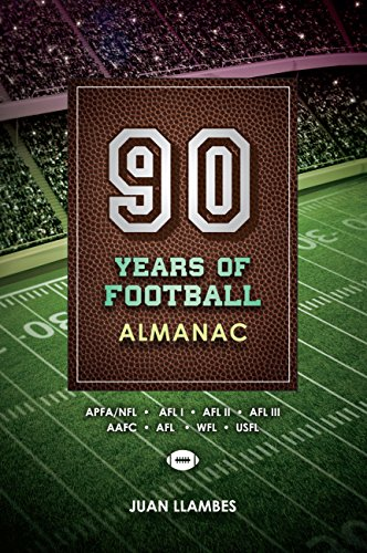 Book Cover: 90 Years of Football-Almanac by Juan Llambe