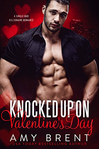 Book Cover: Knocked Up on Valentine's Day by Amy Brent