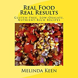 Book Cover: Real Food Real Results by Melinda Keen