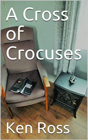 A cross of Crocuses by Ken Ross