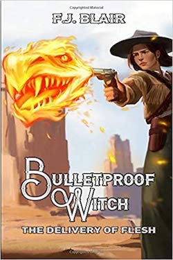 Bulletproof Witch by FJ Blair