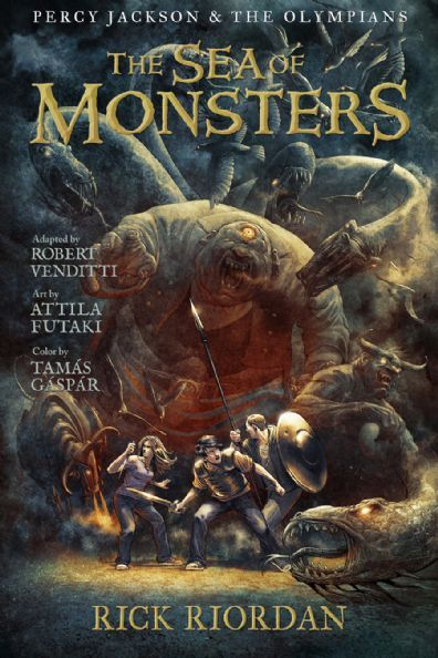 The Sea of Monsters: The Graphic Novel