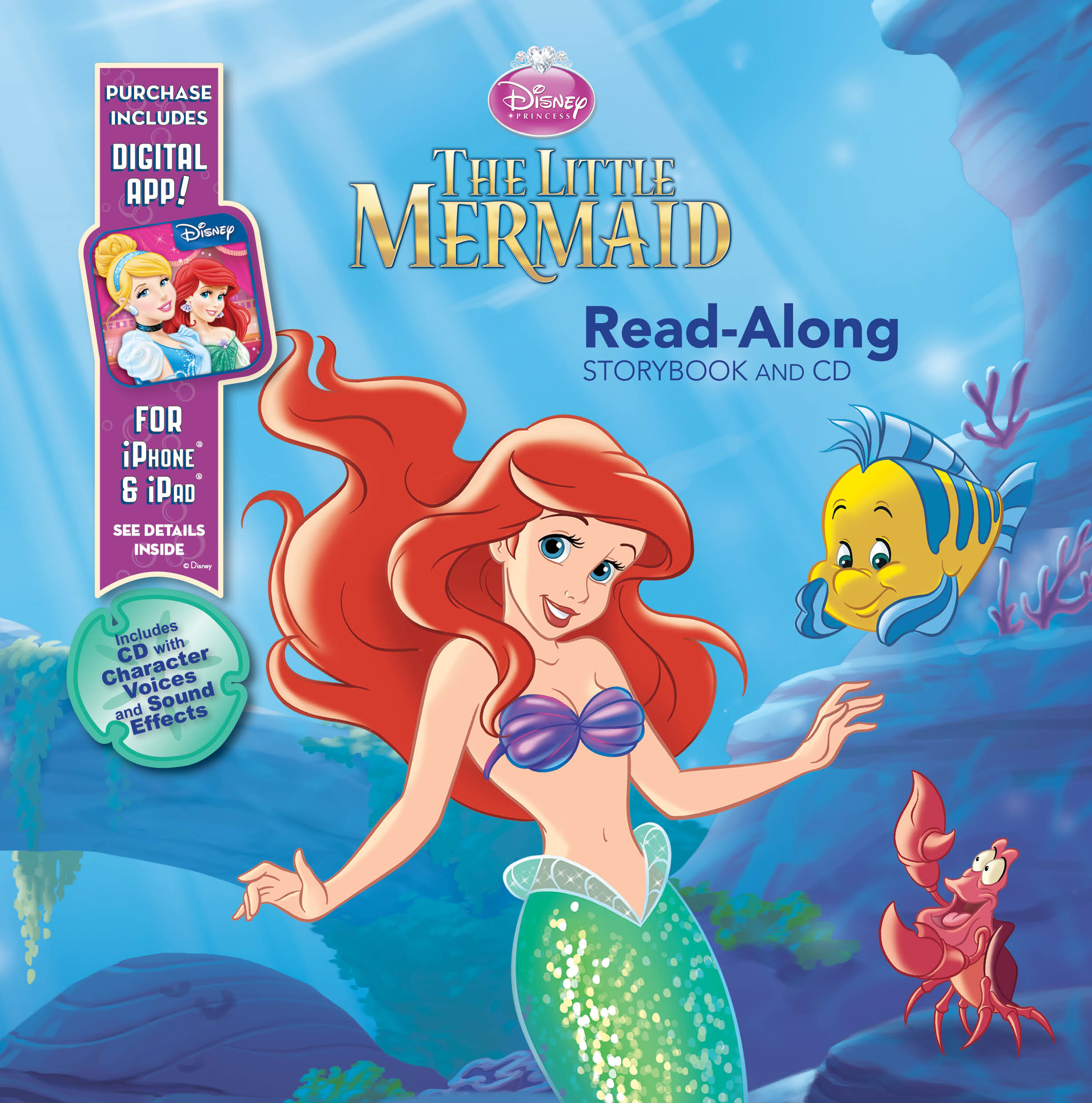 The Little Mermaid Read-Along Storybook and CD Set