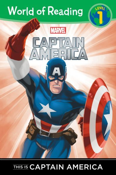 World of Reading:  This is Captain America