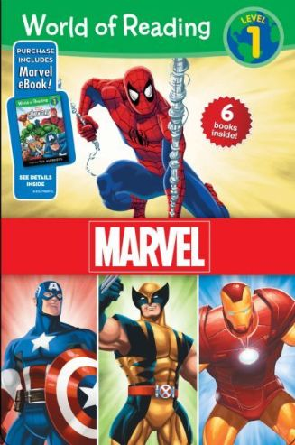 World of Reading Marvel Boxed Set (Volume 1)