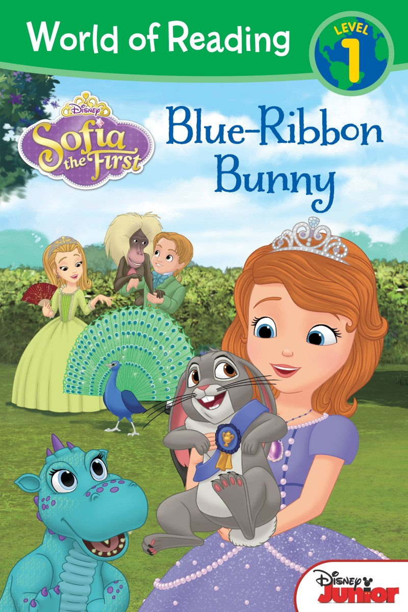 Sofia The First Clover Blue Ribbon Bunny First Blue-ribbon Bunny