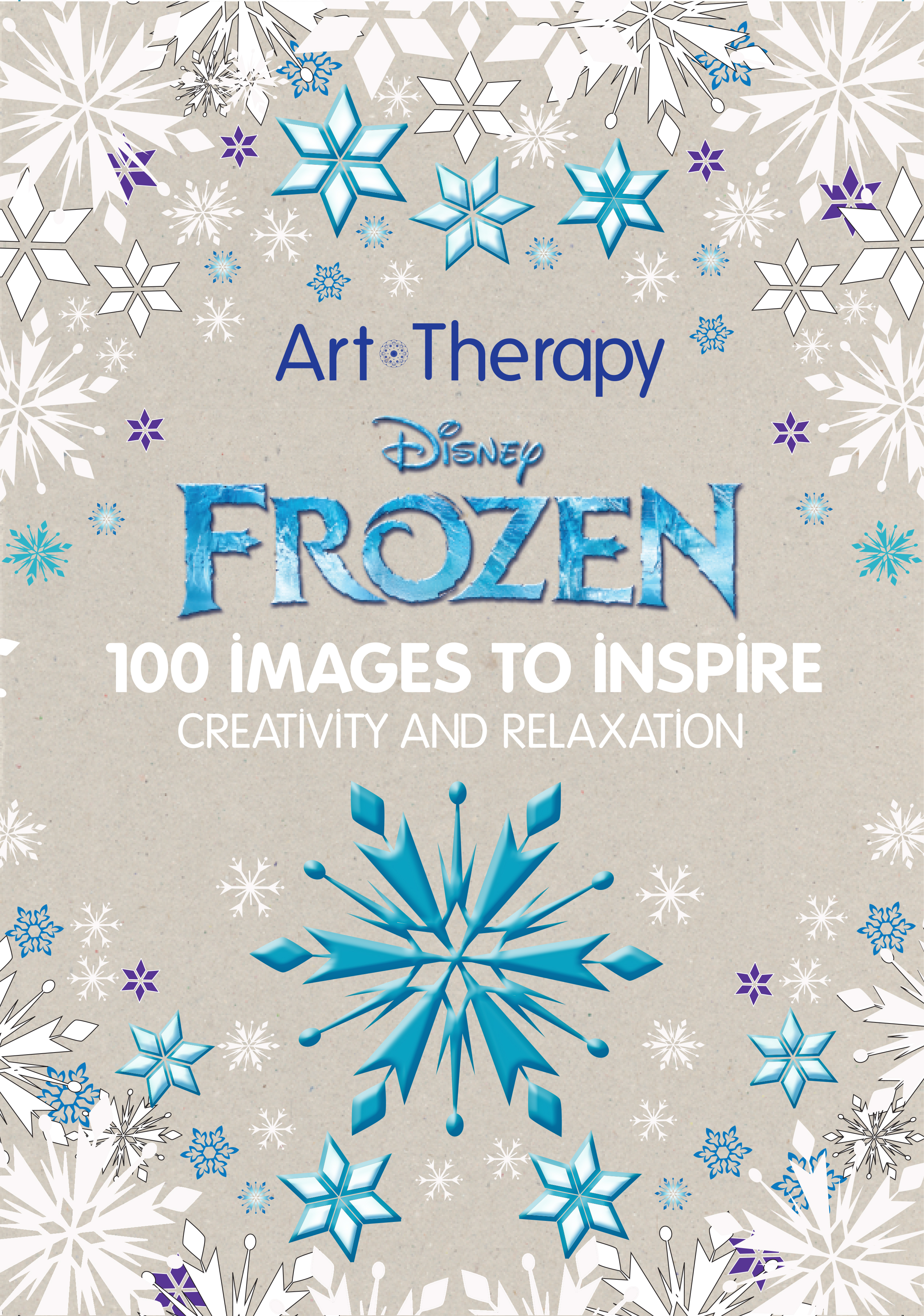 Frozen Coloring Book Art Therapy: Disney art therapy colouring ...