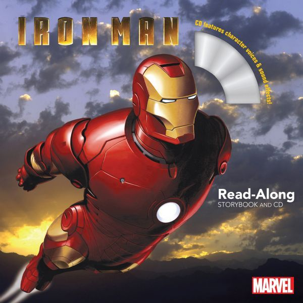 Iron Man Read-Along Storybook and CD