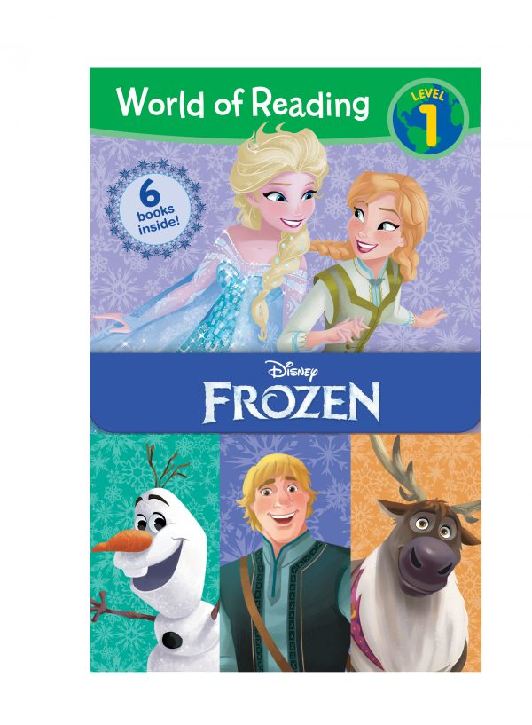 World of Reading: Frozen Boxed Set