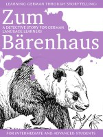 Learning German through Storytelling: Zum Bärenhaus – a detective story for German language learners (includes exercises) for intermediate and advanced cover