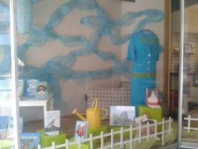 Spring Window featuring Midwest Connections | Dragonfly Books, Decorah, IA