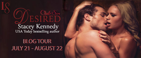 Desired Blog Tour Banner