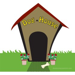Small Crop Of The Dog House