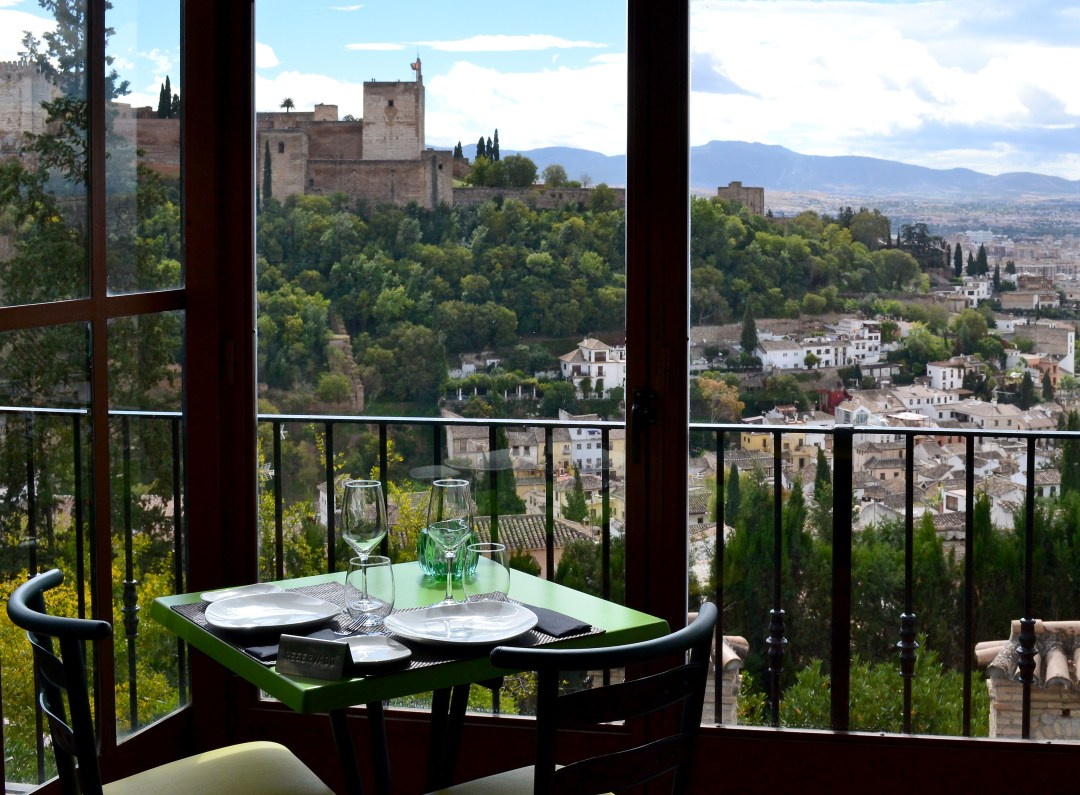 World Heritage Albayzin view of World Heritage Alhambra