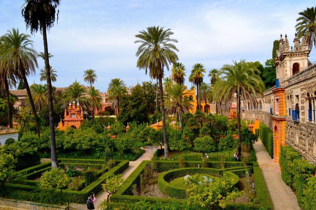 World Heritage Site Alcazar gardens was the setting for Game of Thrones Water Gardens Palace in Dorne