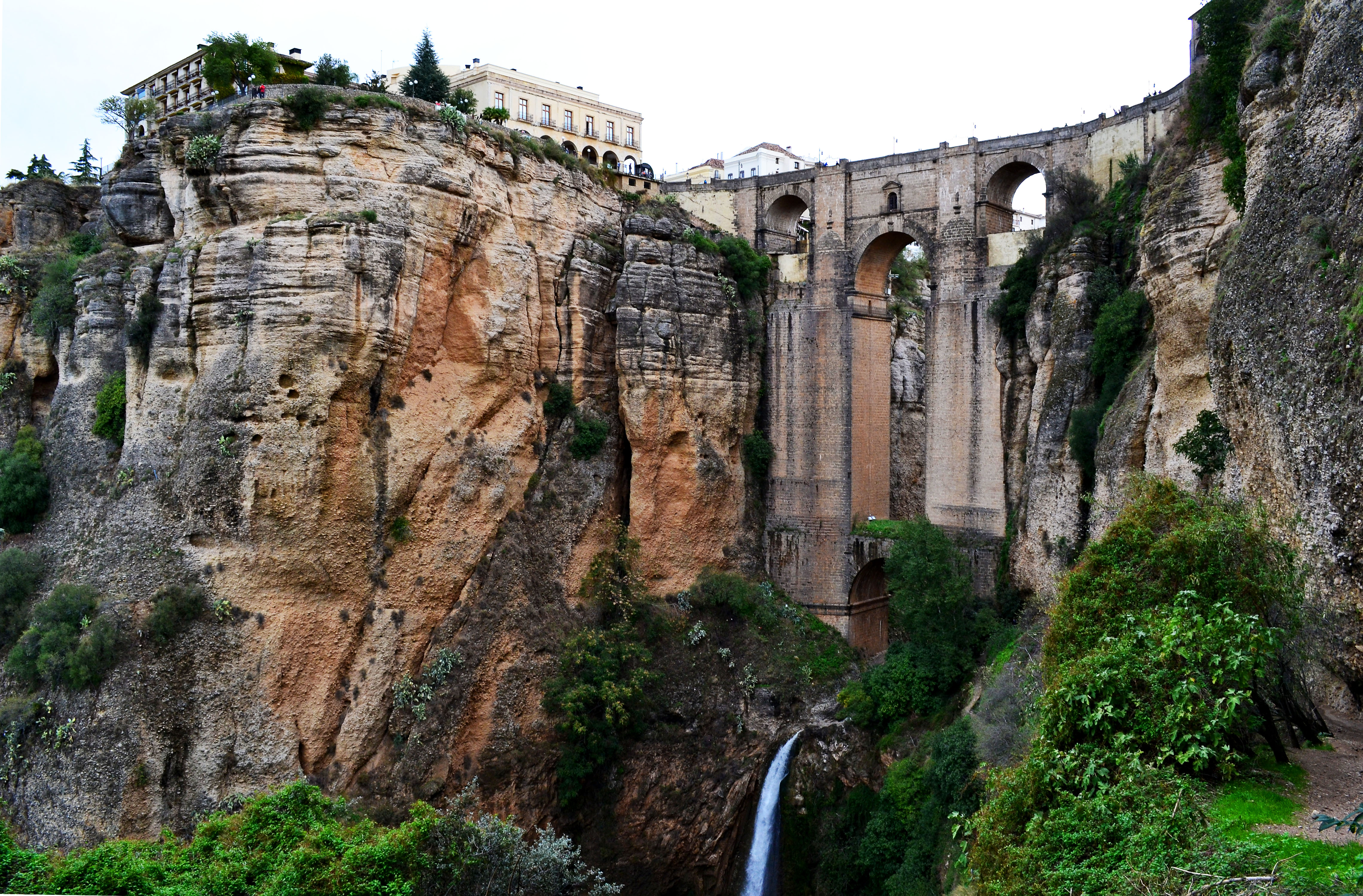 Building Bridges In Ronda Spain Boomervoice