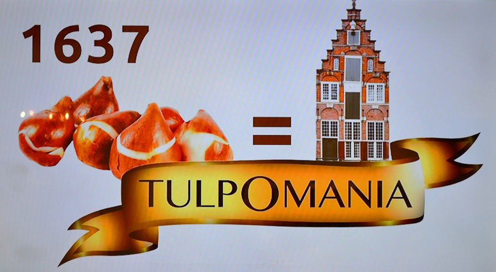 Tulipmania in 1637
