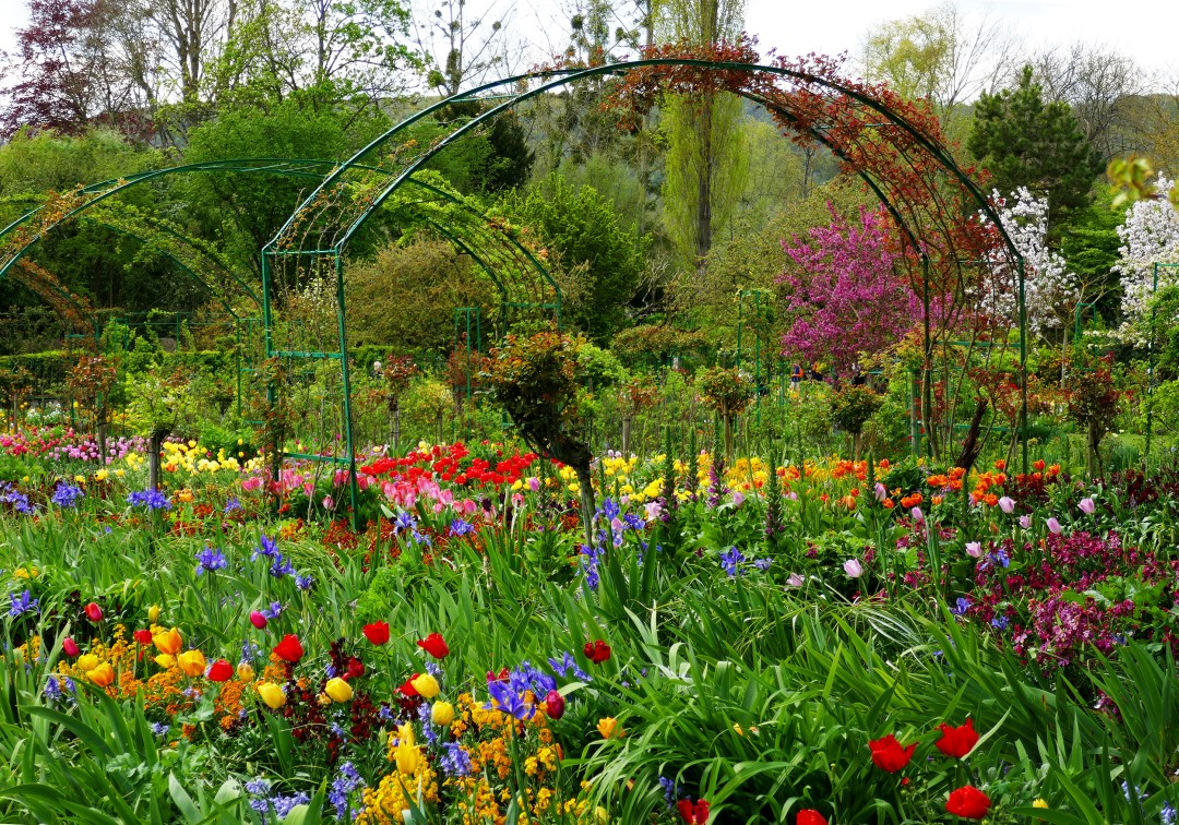 Monet's front yard garden at Giverny