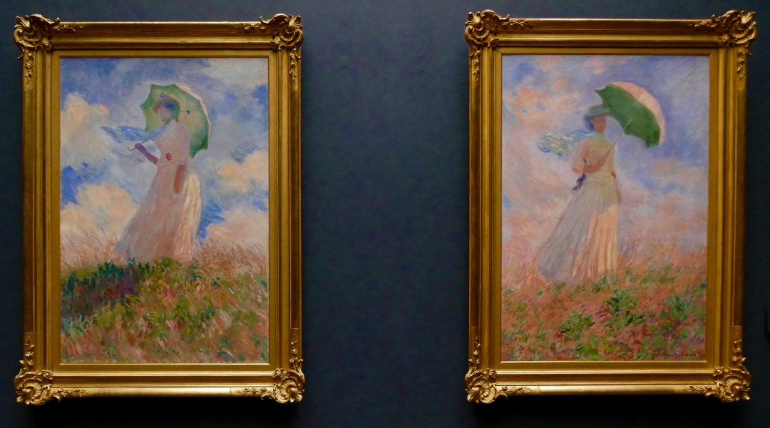 Monet's Study of Women in Musee D'Orsay