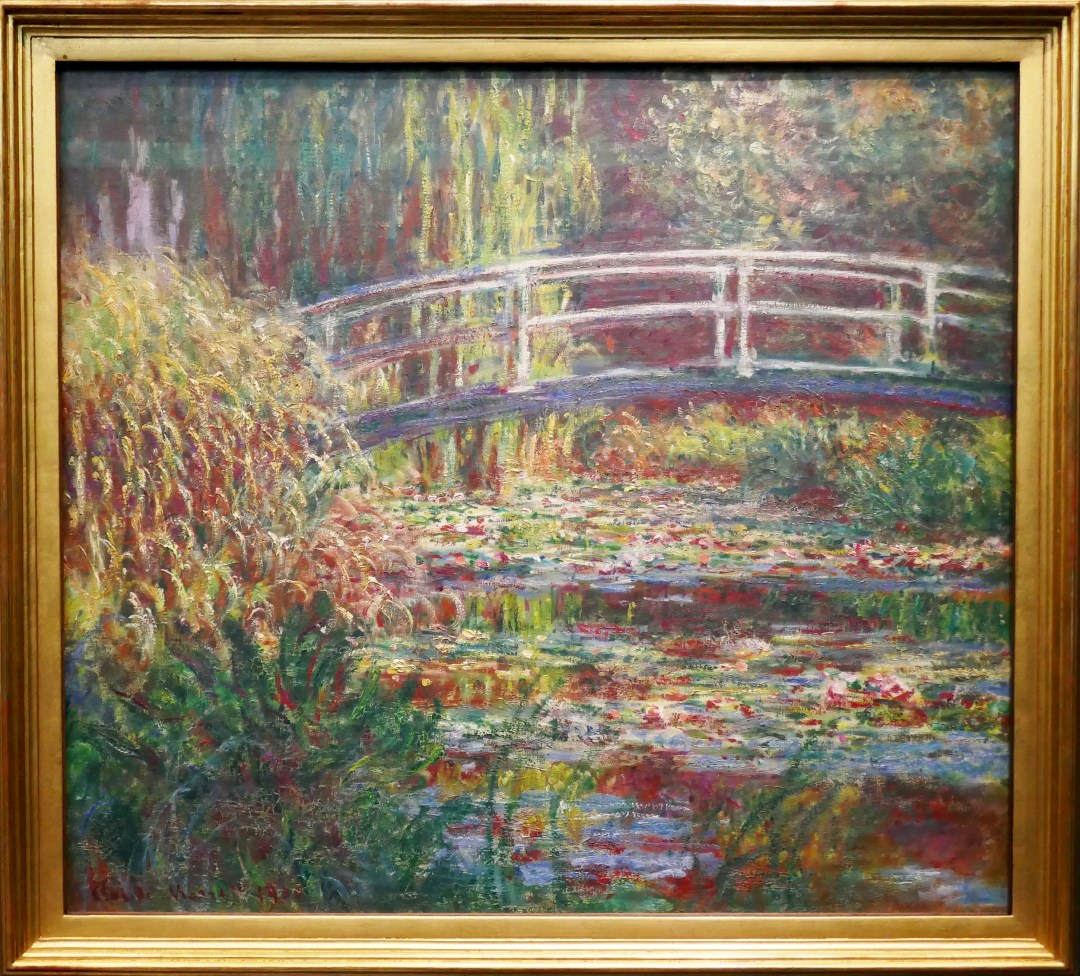 Monet water lilies in Musee D'Orsay