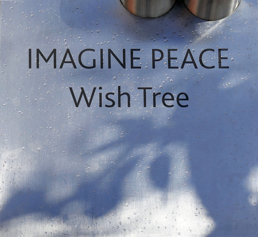 Imagine Peace Wish Tree