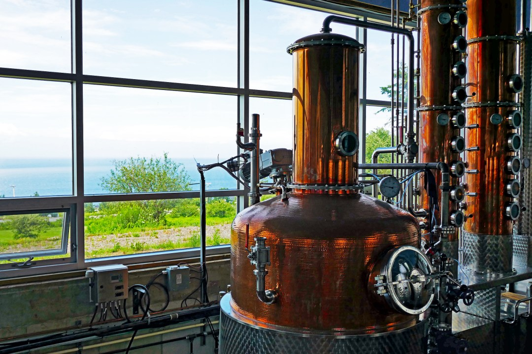 Steinhart Distillery in Arisaig