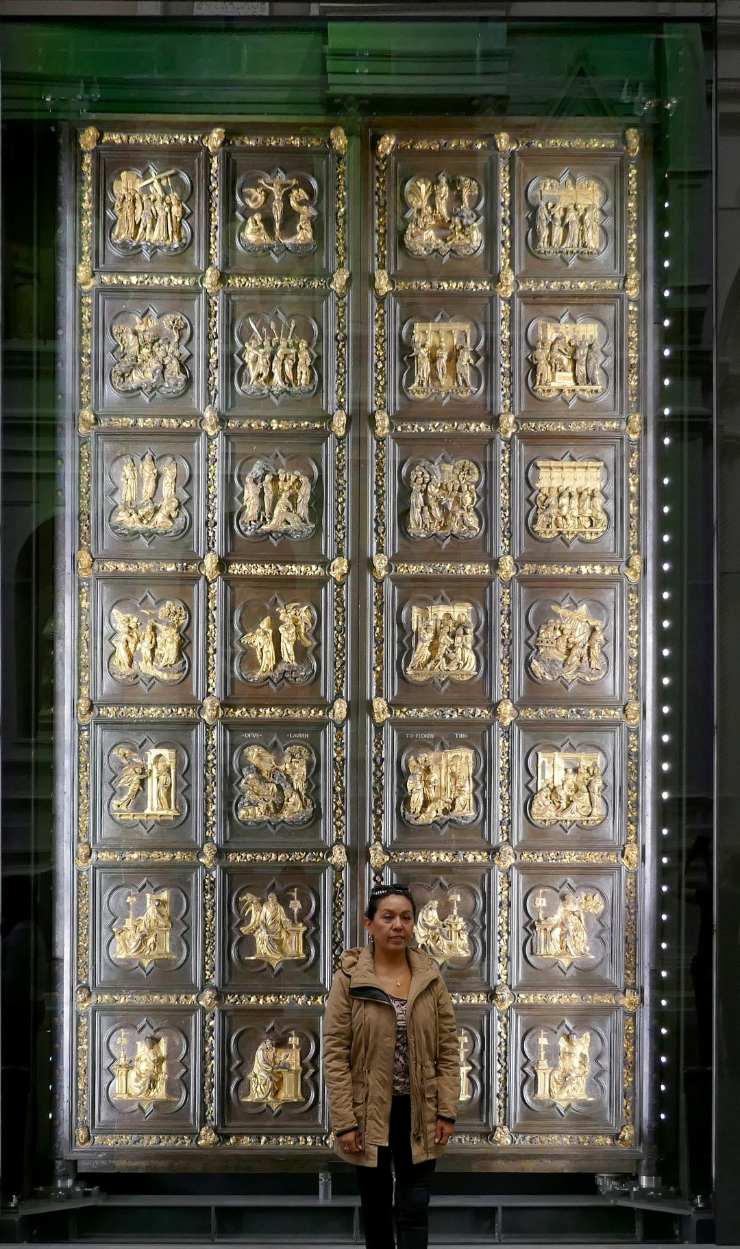 Ghiberti's First set of doors for the Florence Baptistery