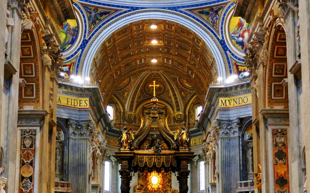Rome: Explore St. Peter's Basilica in Vatican City, a Magnificent UNESCO World Heritage Site