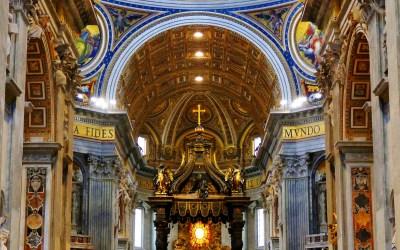 St Peter's Basilica Altar