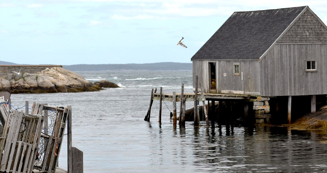 Fishing shack at Peggy's Cove