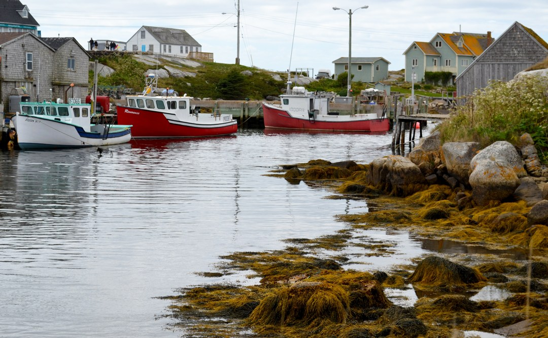 Fishing boats at Peggy's Cove